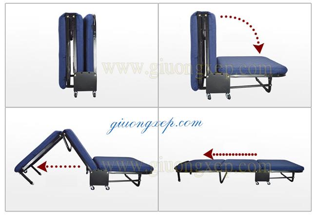 Giường gấp 3 nikita GB75